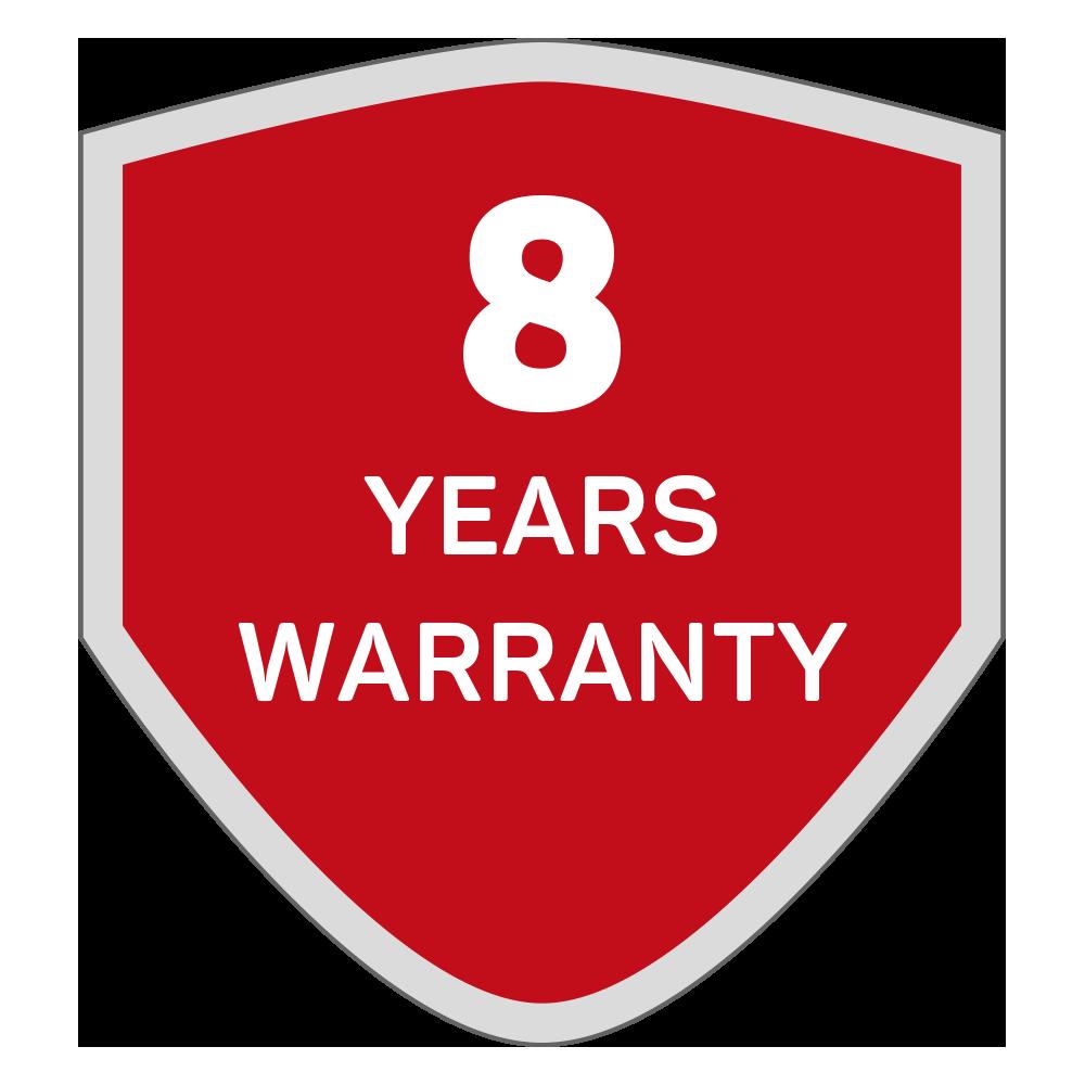 RANCEO lygte pandelampe produkt garanti 8 år warranty 8 years flashlights headlamps