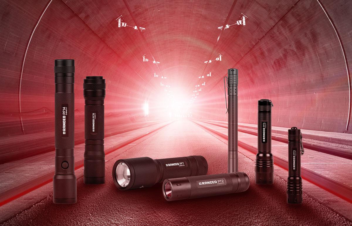RANCEO Lygter, lommelygter kategori - flashlights category. Lygterne er designet til industri og byggeri. Til den professionelle håndværkere, mekaniker, elektrikere, specialister,ingeniører og andre industrielle fag.