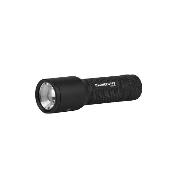 RANCEO PF7 lygte til industri og håndværkere flashlight laying ean: 5710444901003 art nr. 9010