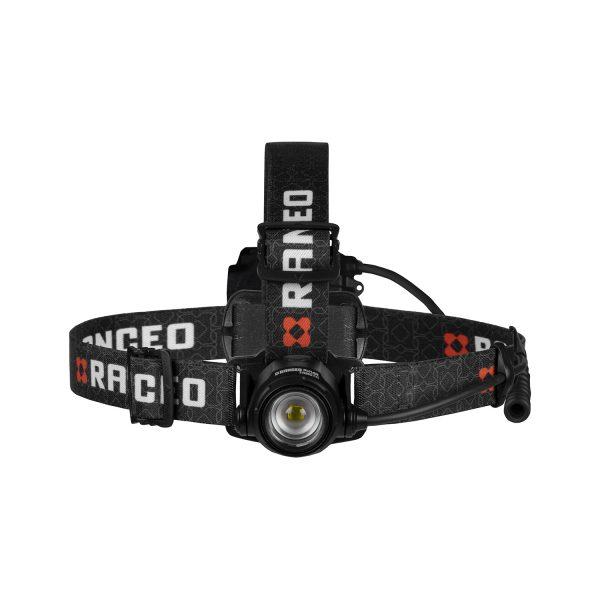 RANCEO PH14R genopladelig pandelampe pandelygte til industri og håndværkere rechargeable headlamp front ean: 5710444926006 art nr. 9260