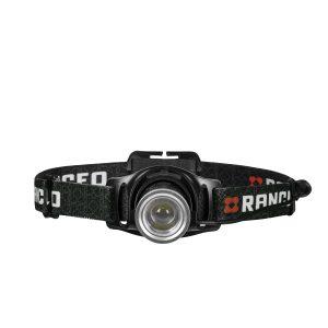 RANCEO PH8R genopladelig pandelampe pandelygte til industri og håndværkere rechargeable headlamp front ean: 5710444924002 art nr. 9240