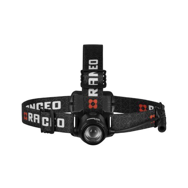RANCEO PH9R genopladelig pandelampe pandelygte til industri og håndværkere rechargeable headlamp front ean: 5710444925009 art nr. 9250