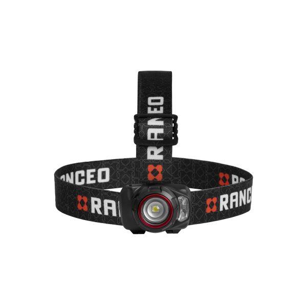 RANCEO SEE5 pandelampe pandelygte headlamp til industri og håndværkere front ean: 5710444921001 art nr. 9210