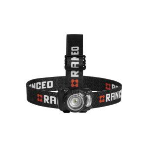 RANCEO SEE7R genopladelig pandelampe pandelygte til industri og håndværkere rechargeable headlamp front ean: 5710444922008 art nr. 9220