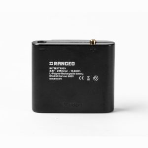 RANCEO - Tilbehør - Accessories - 2850 mAh 3,6V 10,83Wh - PH14R Pandelampe Genopladelig batteri - Headlamp Rechargeable Battery - EAN: 5710444982002 art nr: 9820