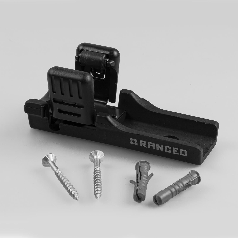 RANCEO - Tilbehør - Aceessories bracket - Side view screws - wall plugs skruer- 5710444986000 - 9860