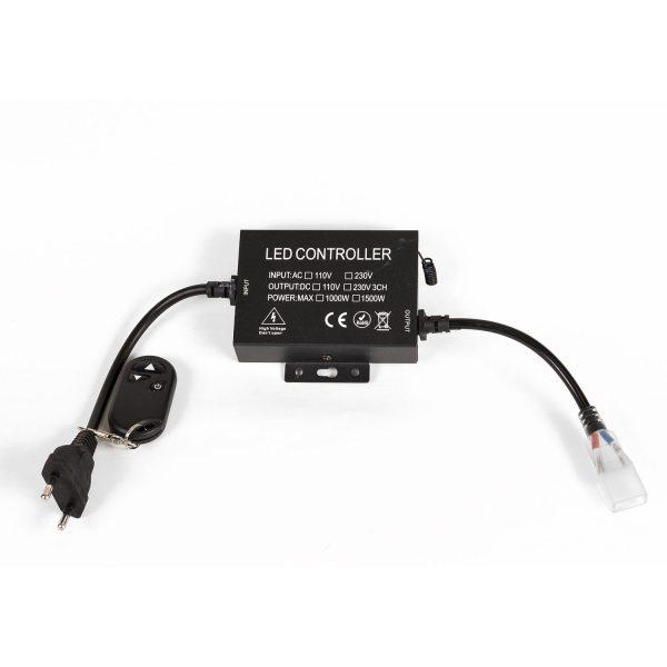 RANCEO - LED controller - Square plug - Firkantet stik - LED Strip Light - See Snake - Construction light - Byggepladsbelysning - Accessories - 5710444958007 - 9580