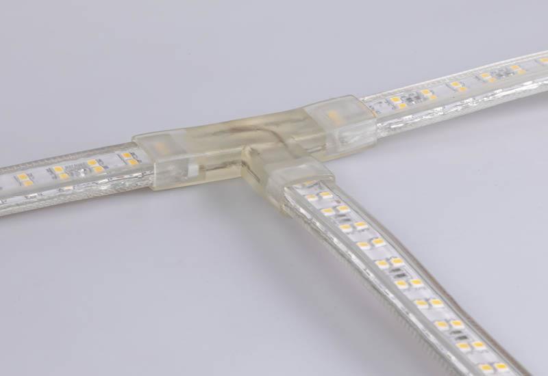 RANCEO - LED Strip Light - See Snake - HOW TO - Udvidelses muligheder - Extend options - T-CONNECTOR