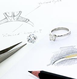 Bespoke jewellery design at randalls jewellers