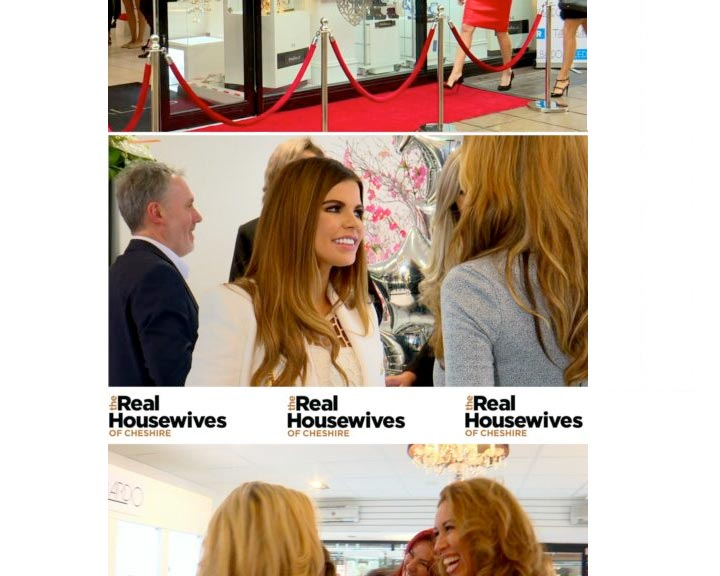 The Real Housewives of Cheshire Film in Randalls Jewellers!