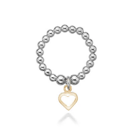 Golden Sweetheart Ring