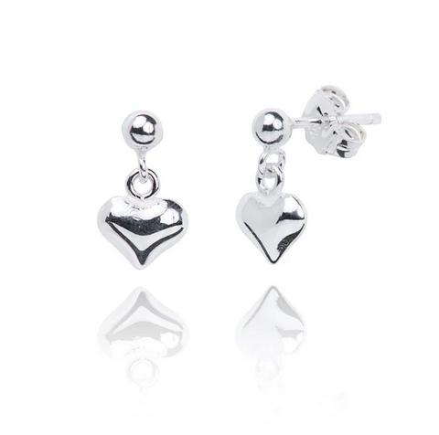 Paris Heart Earrings