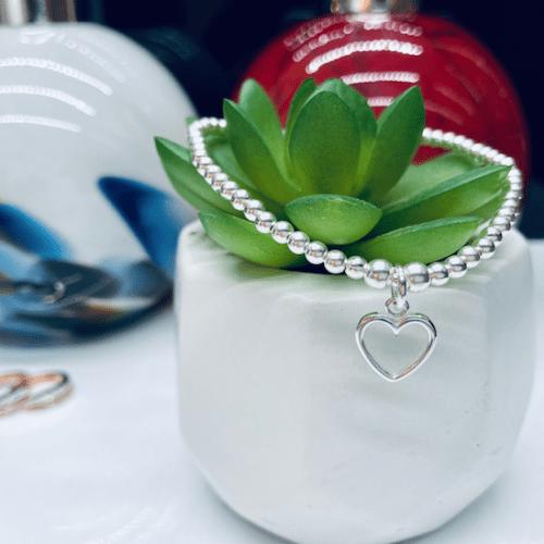 Dollie Jewellery Annabelle Open Heart Bracelet