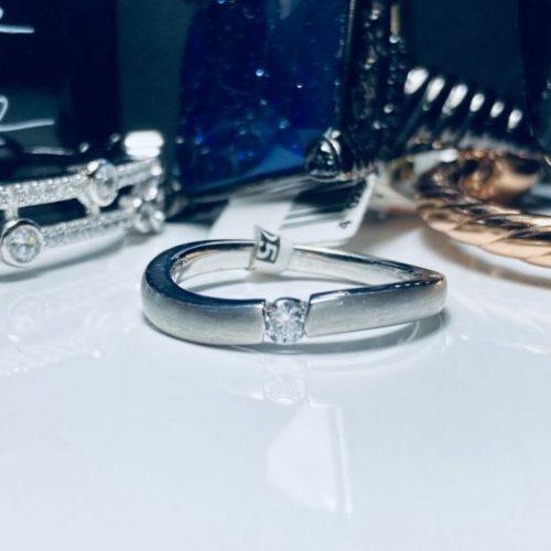 Viventy - Sterling Silver Brushed Wave Ring