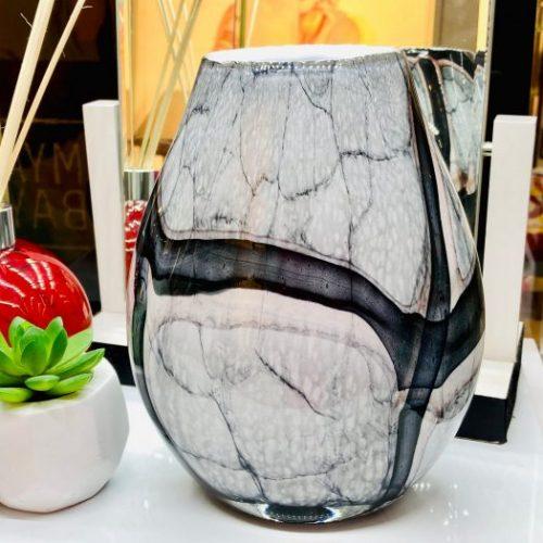 Amelia Art - Midnight Storm Vase