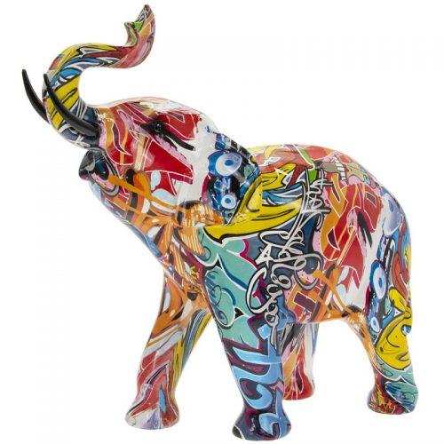 Graffiti Art - Elephant