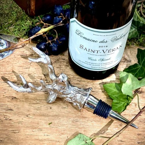 Silver Stag Bottle Stop