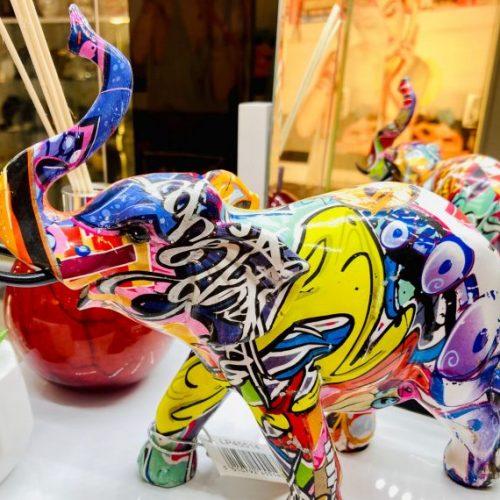 graffiti art elephant