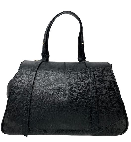 Mia Leather Bag black