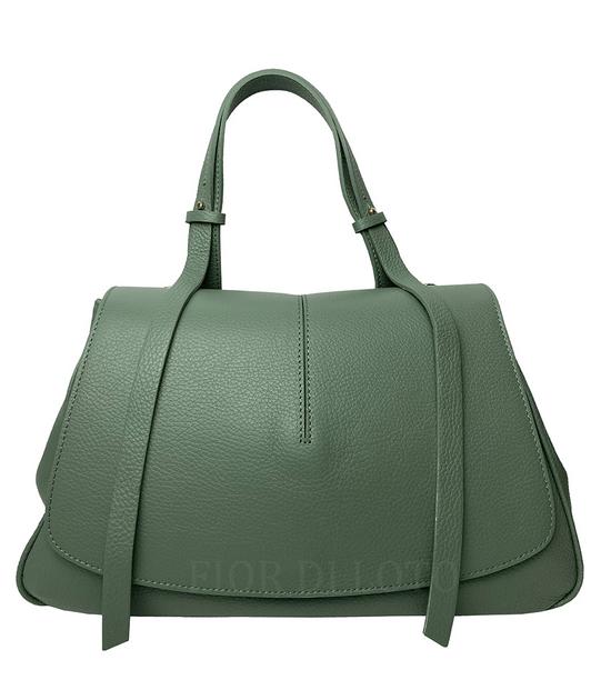 Mia Leather Bag green
