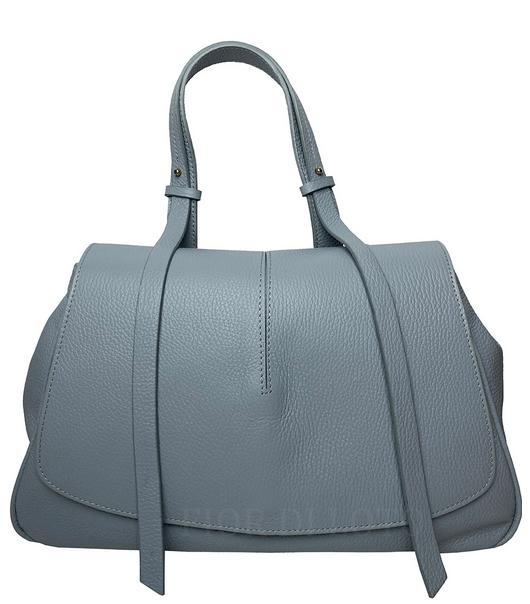 Mia Leather Bag grey