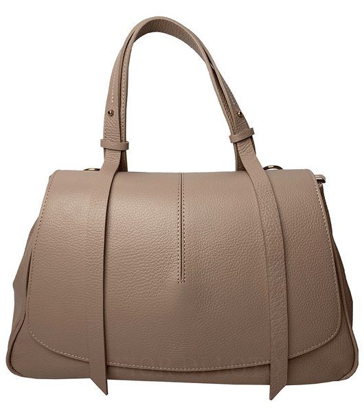 Mia Leather Bag tan