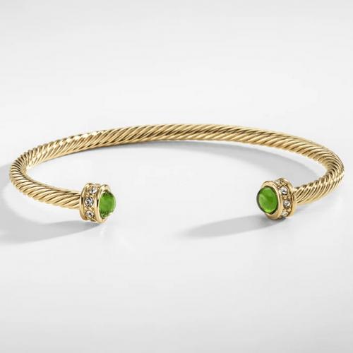 Skinny Maya Torque Emerald 1
