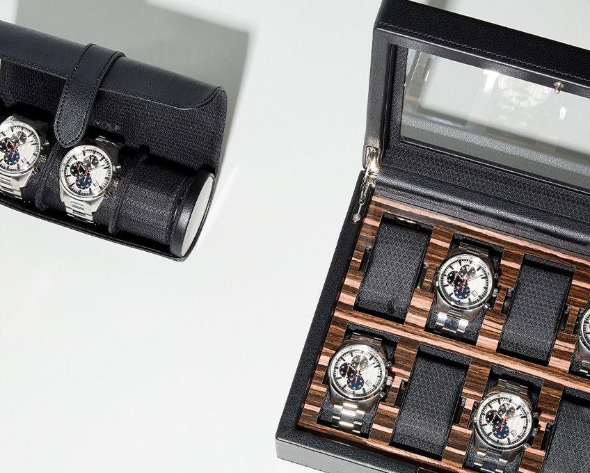 Roadster 8 Piece Watch Box