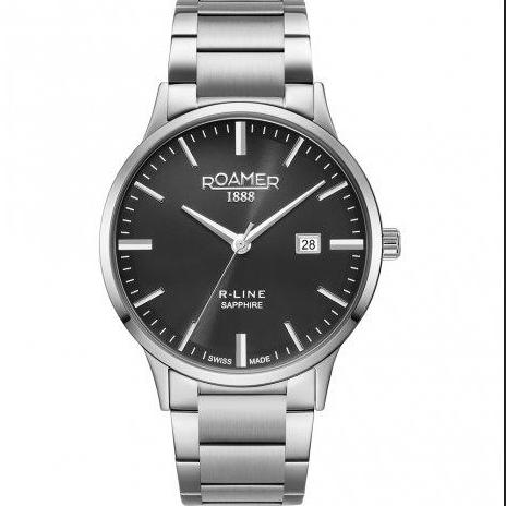 Roamer Mens Black R-Line Classic Watch