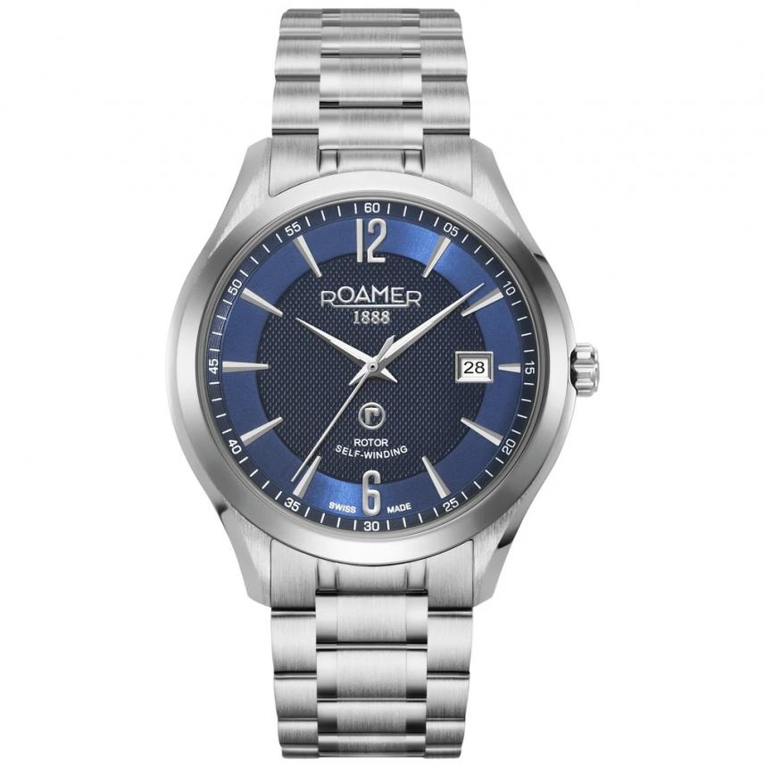 Roamer Men's Blue Mechaline Pro Mechanical Watch