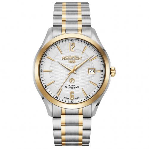 Roamer Men's Two Tone Mechaline Pro Mechanical Watch