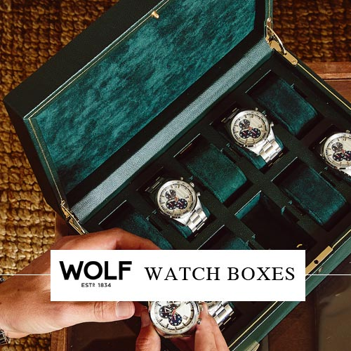 Wolf Watch Boxes