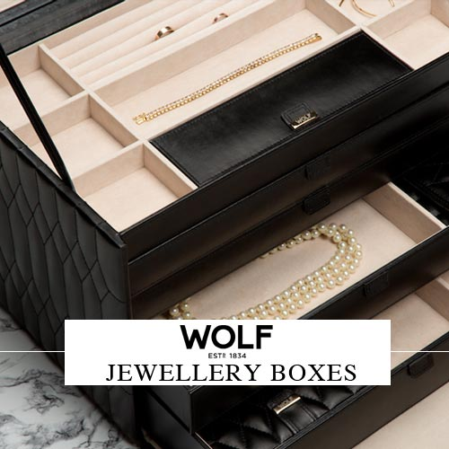Wolf Jewellery Boxes