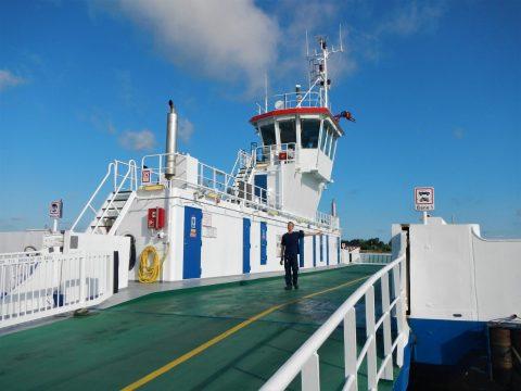 Udbyhøj Færgefart i Randers Fjord sejler året rundt.