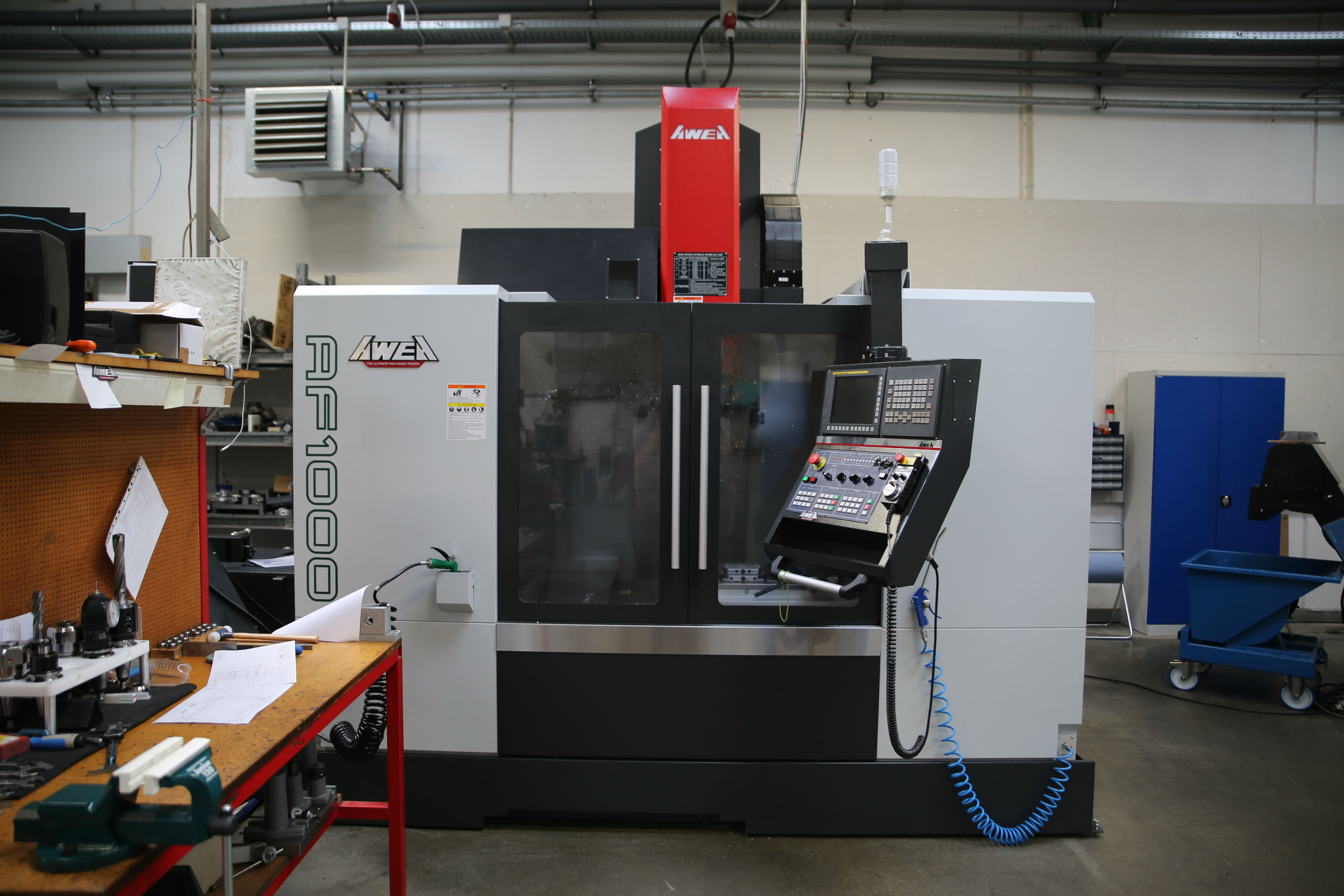 AWEA AF1000 CNC Machine
