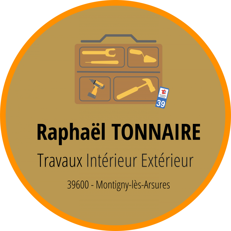 Logo - Raphaël Tonnaire Travaux