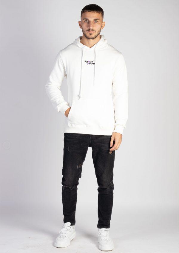 White Original Hoodie Pullover