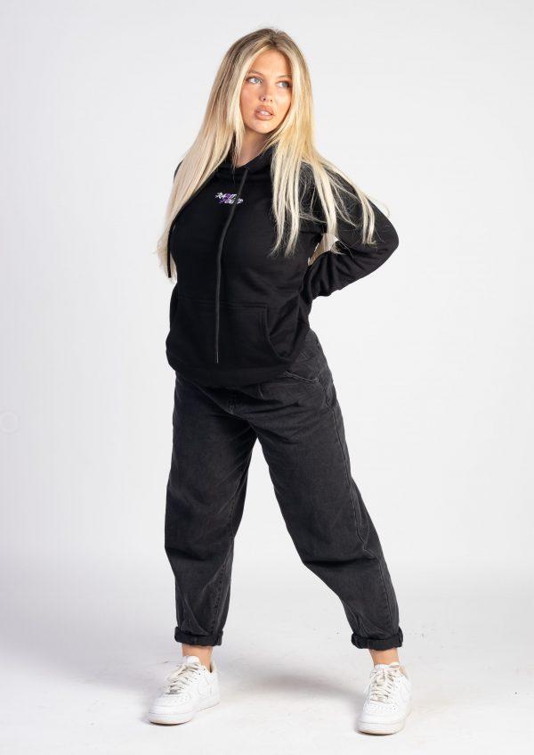 Black Original Hoodie Pullover