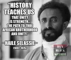 Teachings of H.I.M: Rastafari on Unity & Brotherhood Part 1