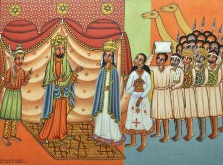 The Conversation of Solomon with the Queen of Ethiopia