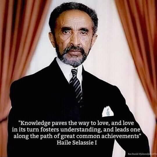 The Teachings of H.I.M: RasTafari speech on Education | Wise Mind of HIM