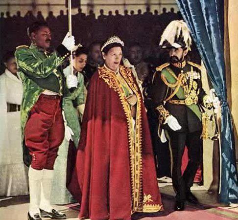 Emperor Haile Selassie I's relations with Empress Menen