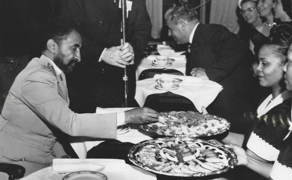 """Humanitarian Haile Selassie I on THE """"FREEDOM FROM HUNGER"""" CAMPAIGN"""