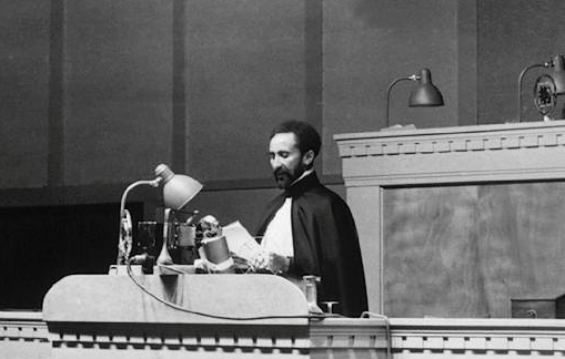 Haile Selassie I To The World Council For The Blind