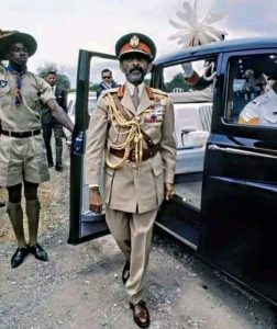 to the world council for the blind : Haile Selassie I