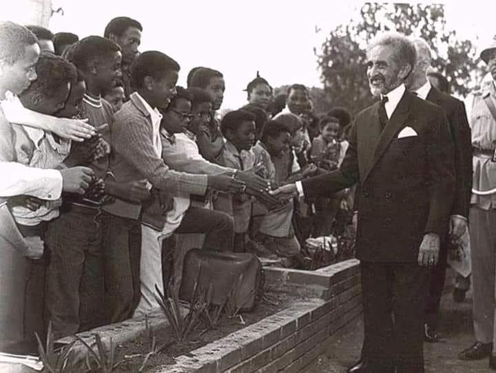 The King of Kings Emperor Haile Selassie I speaks on Development