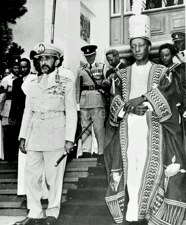Haile Selassie I selected speeches on African Unity, Cornerstone Apr. 29, 1960