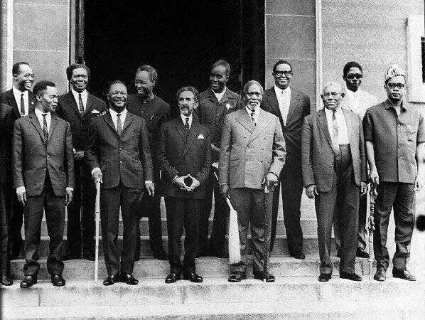 May 25 1963: The Organization of African Union headed by Haile Selassie I