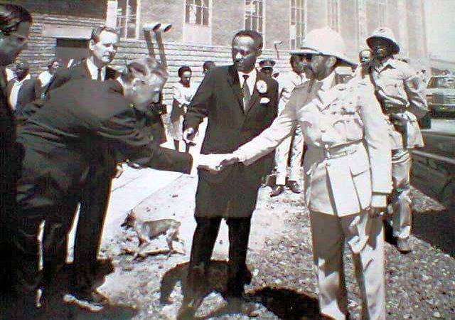 Haile Selassie I on International Politics and it's prinicples