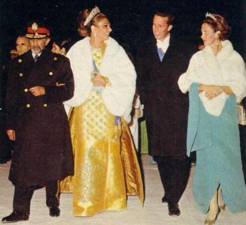 Queen Elizabeth II visits Haile Selassie I Emperor of Ethiopia in 1965